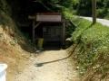 Ingresso del Tunnel Ravne