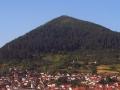 Piramide del Sole vista da Visoko