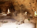 Grotta pastorale sulle murge meterane