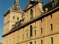 La facciata dell'Escorial