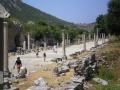 La via del porto a Efeso