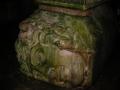Particolare della testa di Minerva nella Cisterna sotterranea di Istambul