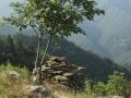 Un ''cairn'' sulle Alpi Apuane