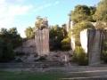 Vecchio teatro di ricavato nella cava di tufo a Grottaglie