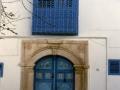Particolare di un'ingresso a Sidi Bou Said