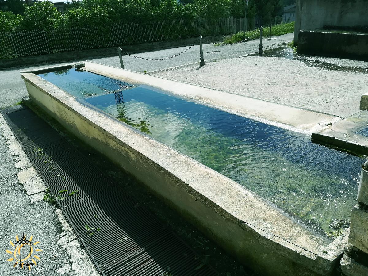 L'Aquila - Vasche di raccolta dell'acqua