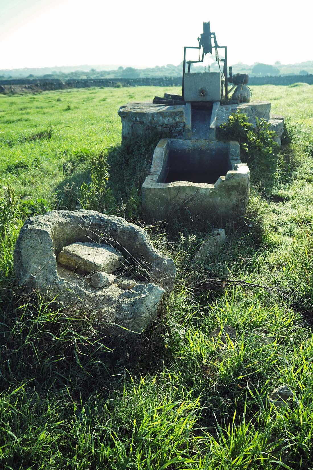 Mottola (Puglia) Pozzo nella campagna per attività agro-pastorali