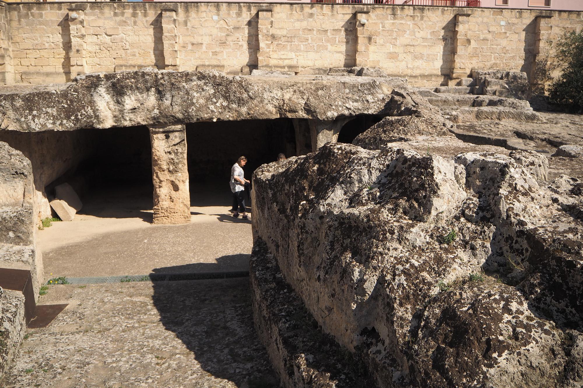 Massafra (Puglia) Chiesa rupestre di San Leonardo