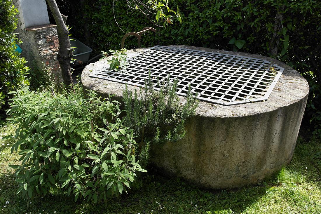 Pozzo di raccolta dell'acqua