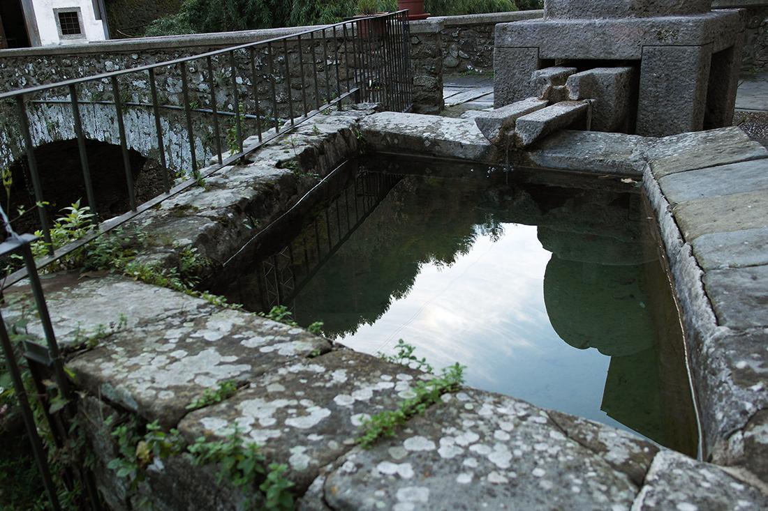 Vasca di raccolta dell'acqua