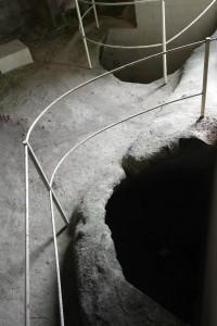 Matera - San Nicola dei Greci ( Basilicata) Cisterne negli ingressi degli ipogei dei Sassi che raccoglievano l'acqua piovana