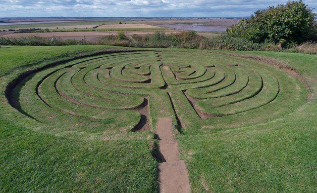 Labirinto di J.Bower (Inghilterra)