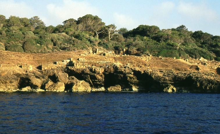 La costa del sito di Tipasa