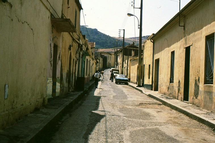 Una strada della città di Cherchel