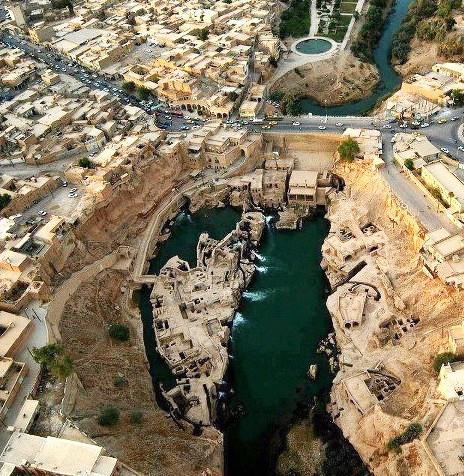 Sistema idrico di Shushtar (Iran)