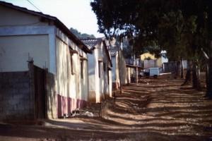 Abitazioni della periferia di Tipasa