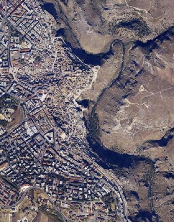 Foto aerea di Matera