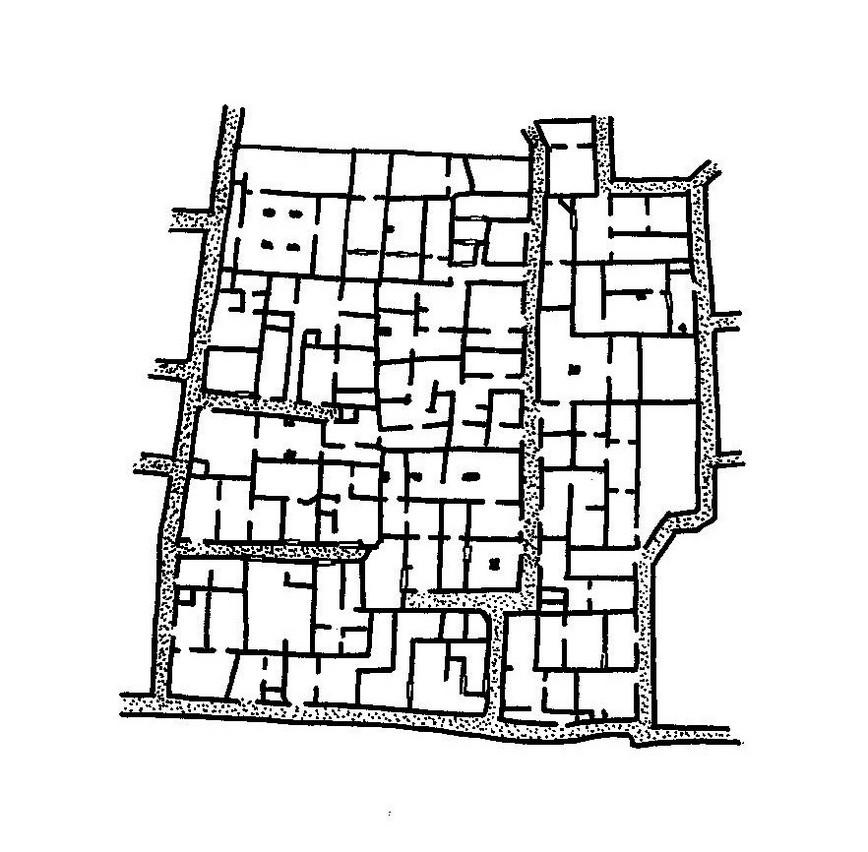 Pangea evoluzioni tipologiche for Planimetrie della casa quadrata
