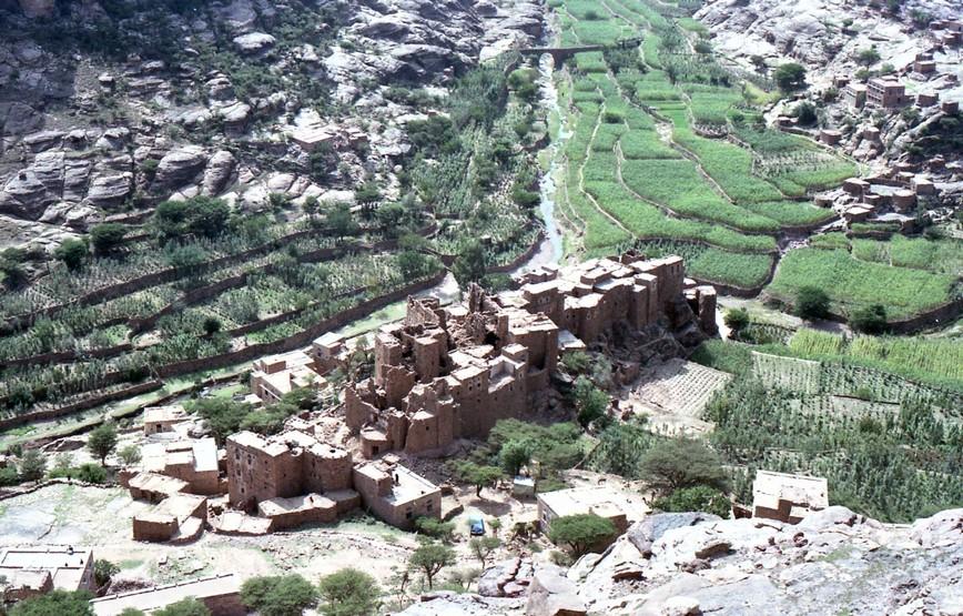 Terrazze sul fondo dello wadi