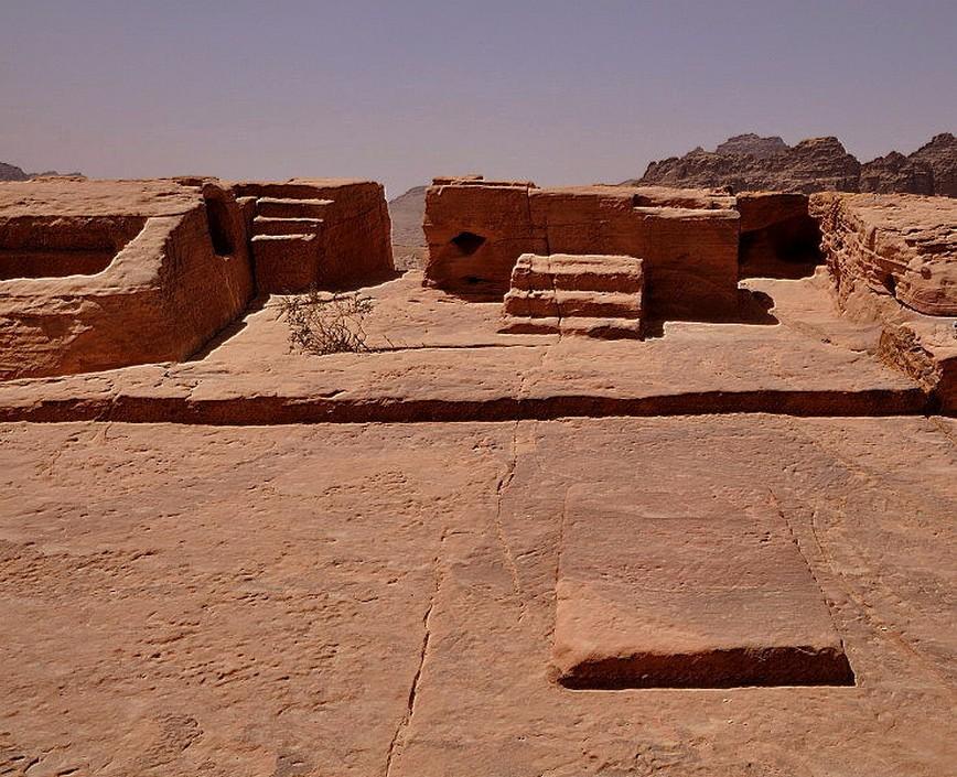 '' Luogo elevato'' di Petra santuario