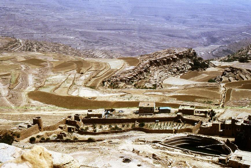 Terrazzamenti a Thula