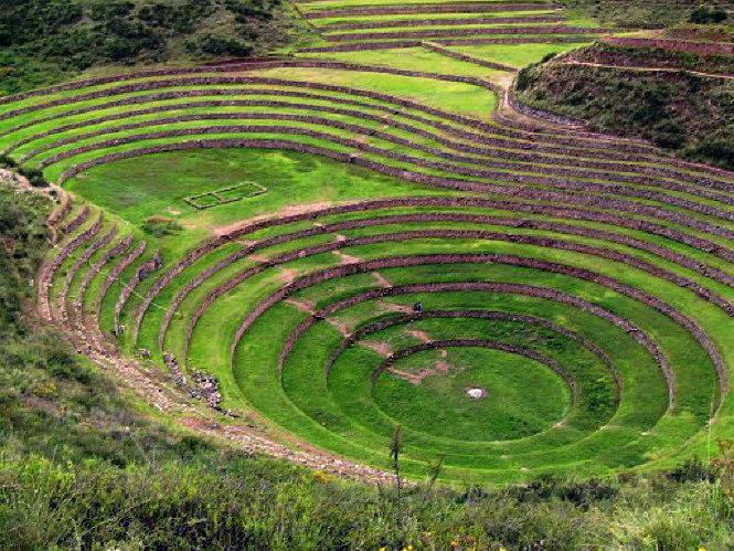 Valle sacra Moray - Perù