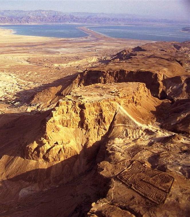 Masada ( Deserto della Giudea)