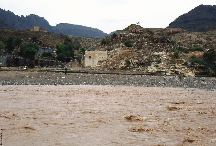 Wadi Surdud in piena
