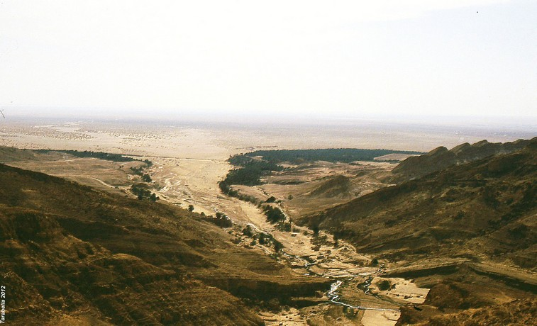 Oued oasi di montagna