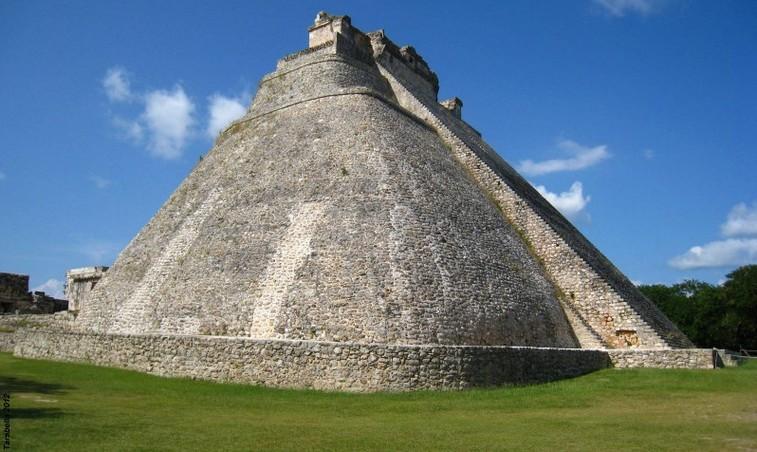 Piramide di Uxmal (Yucatan - Messico)