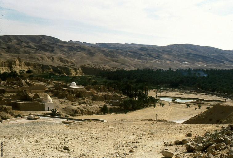Oasi di montagna di Tamerza (Tunisia)