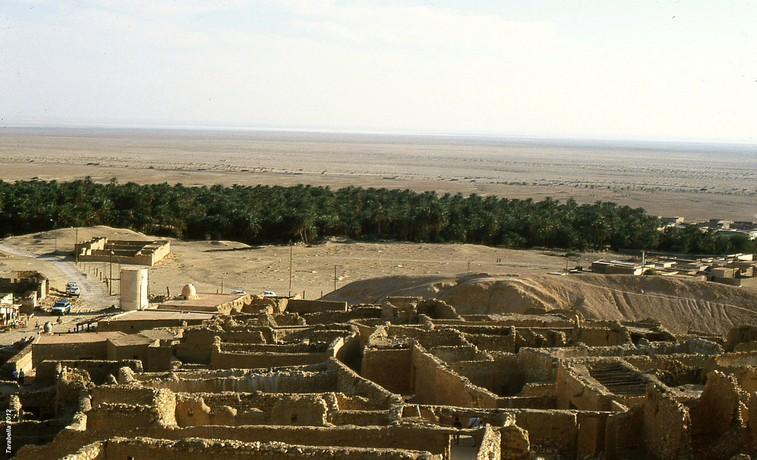 Oasi di montagna di Chebika (Tunisia)