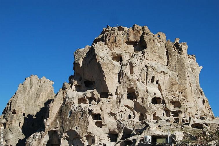 La Rupe di Kaymakli in Cappadocia