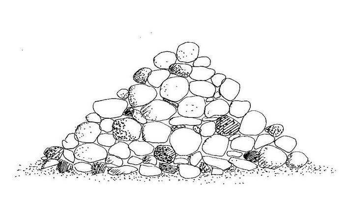 Tumulo preistorico ( El Guettar - Tunisia)