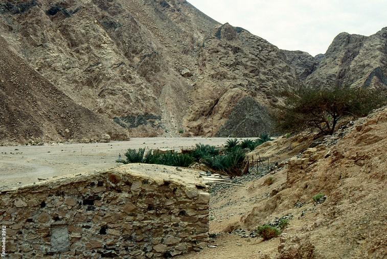 Wadi vicino Dahab