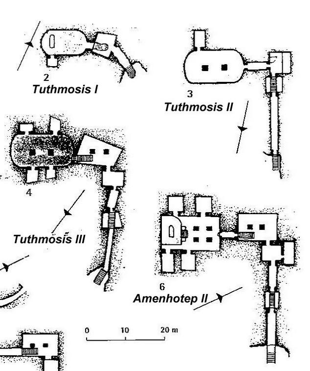Tombe della Valle dei Re (Egitto)