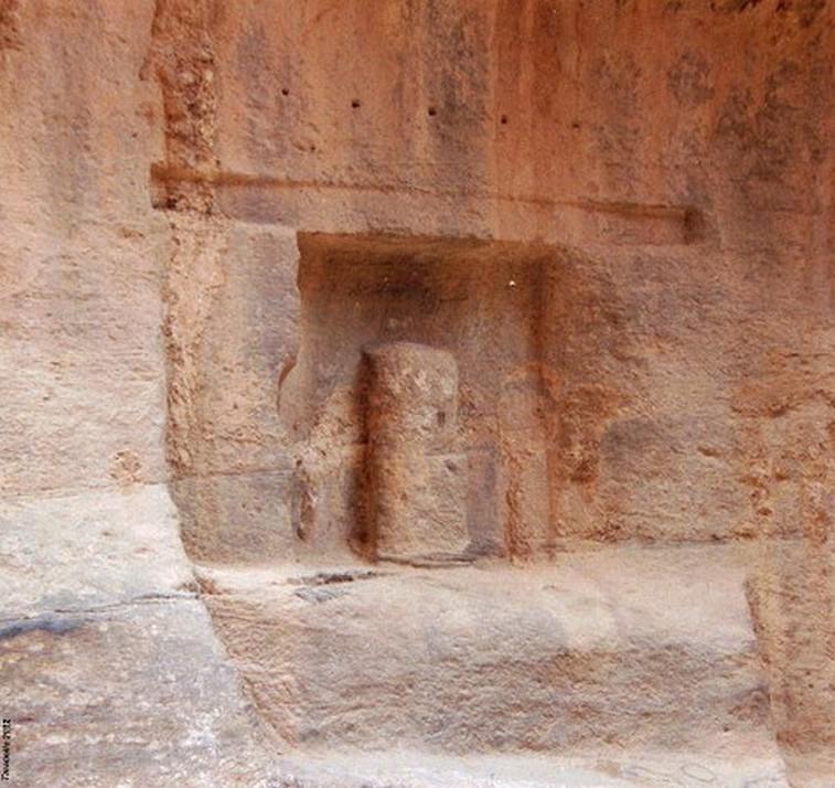 Altare nabateo a Petra