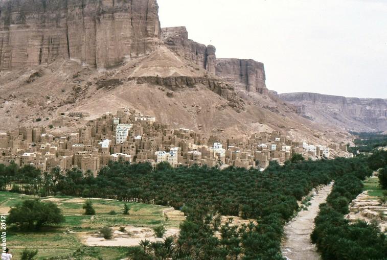 Wadi Dwan e la città di Haryba