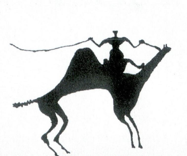 Uomo a cammello