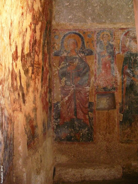 Affresco della cripta della chiesa di Santa Maria della Bona Nova