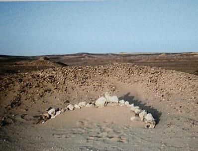 Linee di pietre nel Sahara