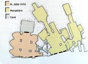 Planimetria della Madonna delle Virtù