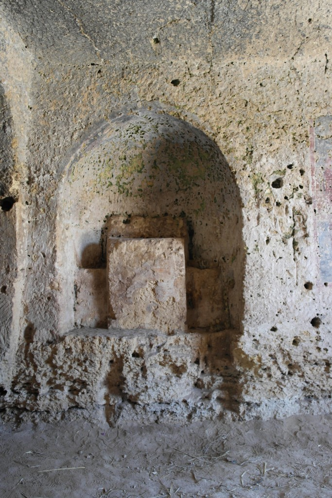 Ambone di San Falcione (Murgia materana)