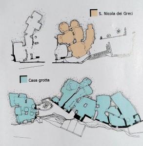 Planimetria di S.Nicola dei Greci