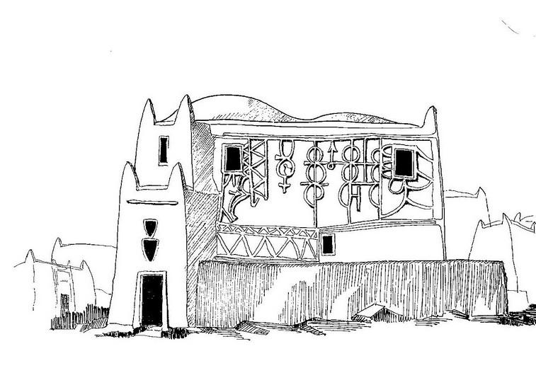 Abitazione borghese a Tahoua (Niger)