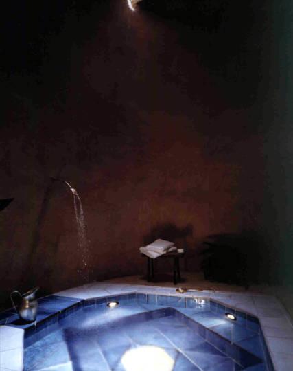 Particolare del bagno (Hammam)