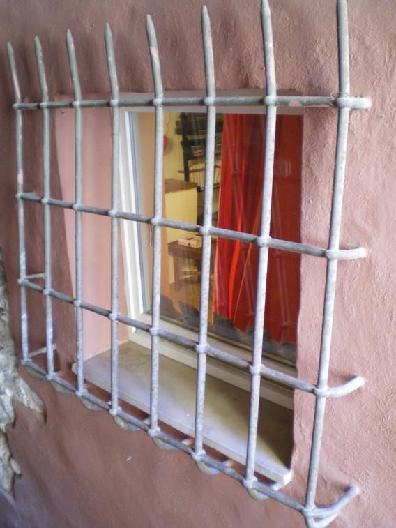 Particolare della finestra esterna