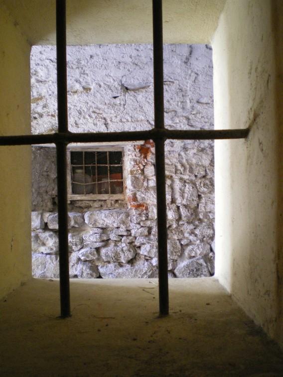 Una finestra del piano terra