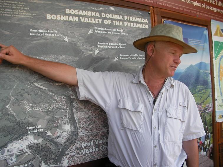 Lo scopritore della Valle delle Piramidi il Dott. Semir Osmanagich