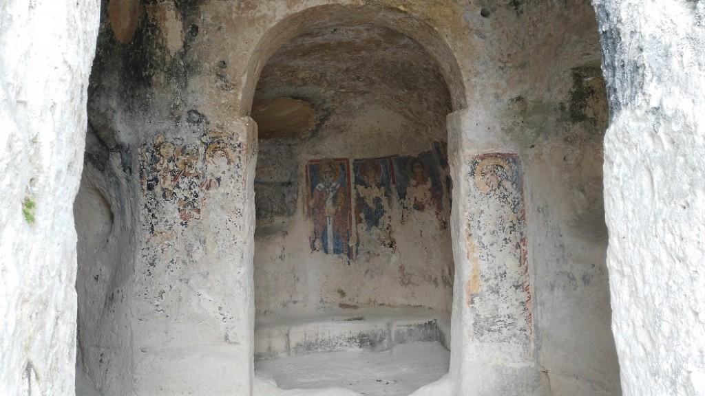 Chiesa rupestre affrescata
